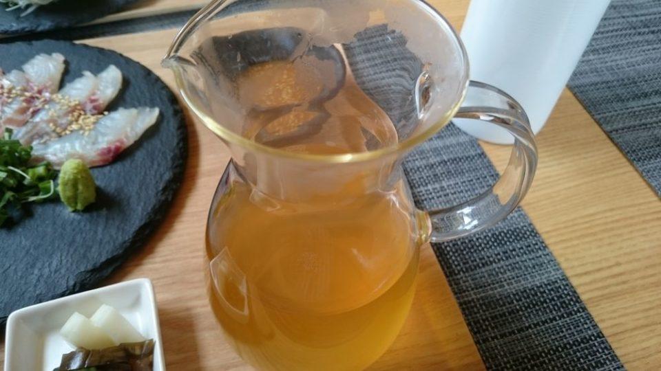 ごはん屋朔 鯛茶漬けの出汁