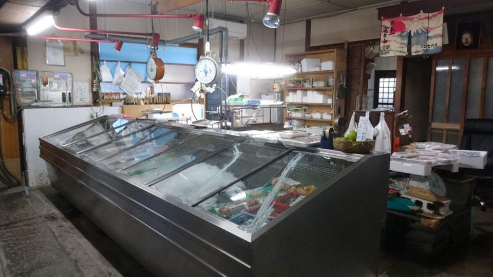 浜田鮮魚店 店内