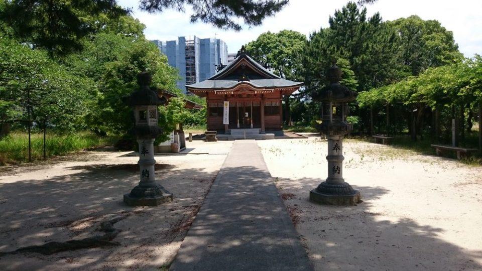 生の松原 壱岐神社