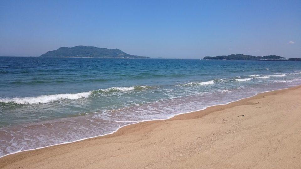 生の松原 きれいな海岸
