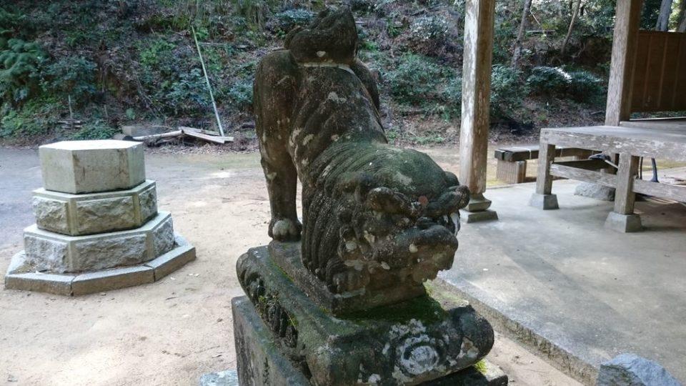 糸島 宇美八幡宮 狛犬2