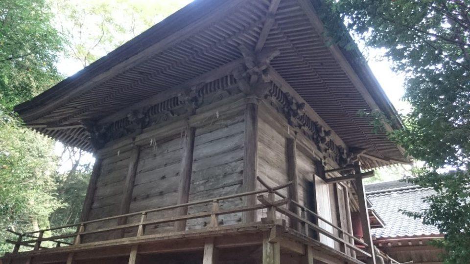 糸島 宇美八幡宮 神殿