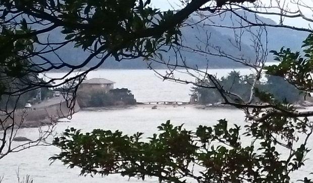 加布里公園からの箱島神社