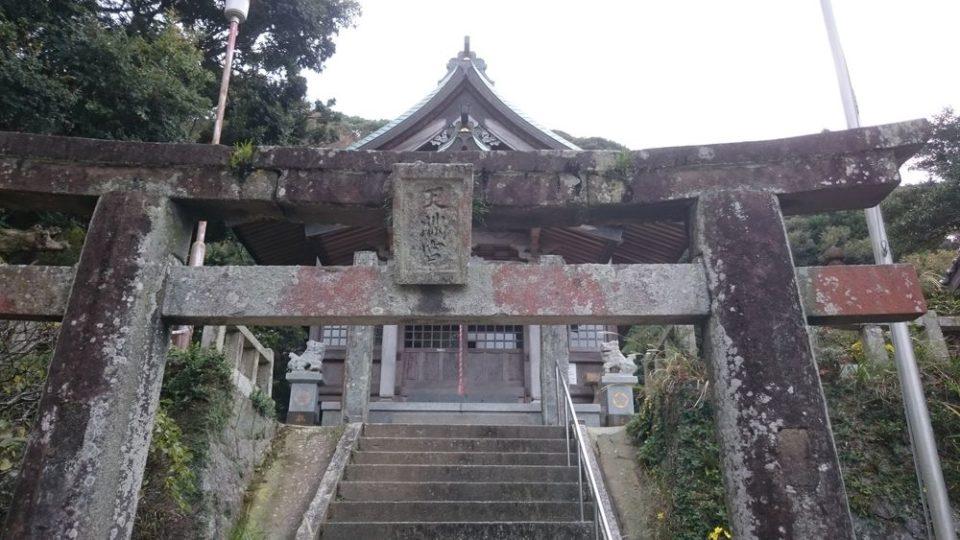加布里天満宮 拝殿