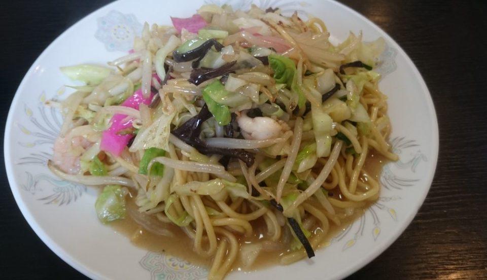 中華料理龍上 糸島 皿うどん