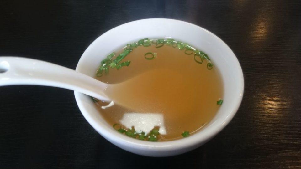 中華料理龍上 糸島 中華スープ
