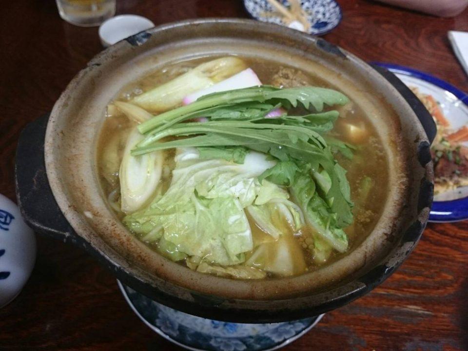 中洲川端 酒一番 カレー鍋