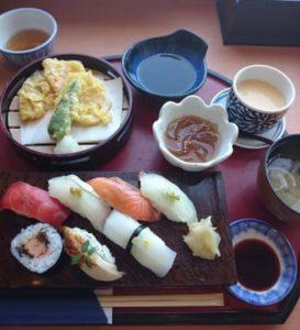 ざうお 寿司定食