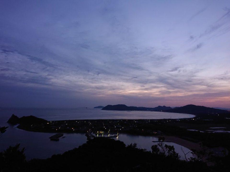 糸島 初日の出 立石山