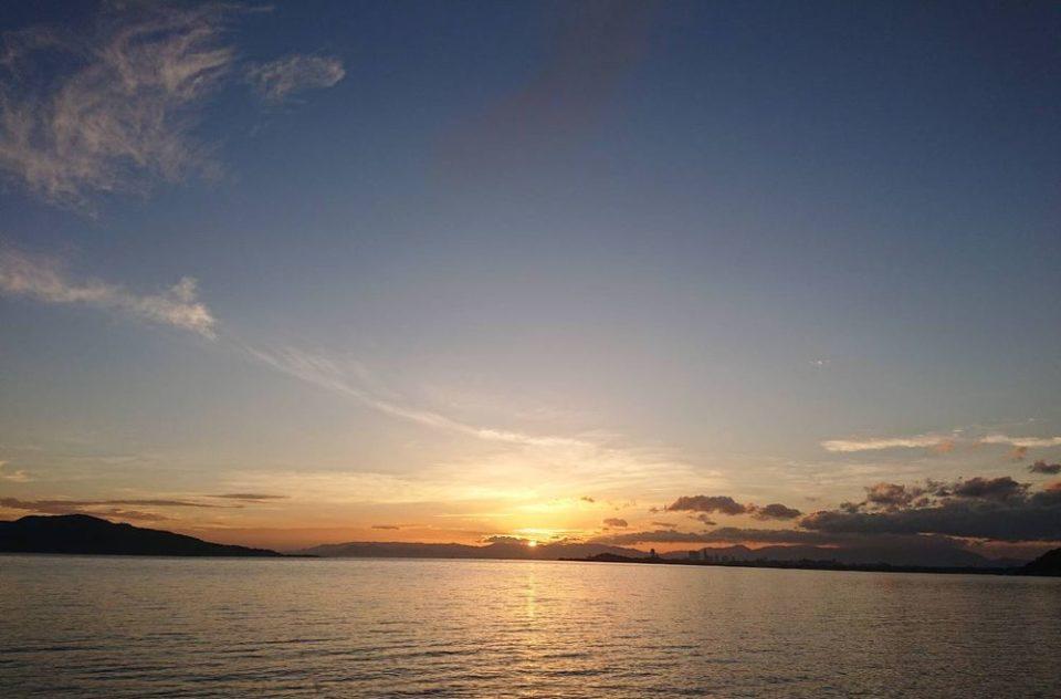 糸島初日の出 長垂海岸