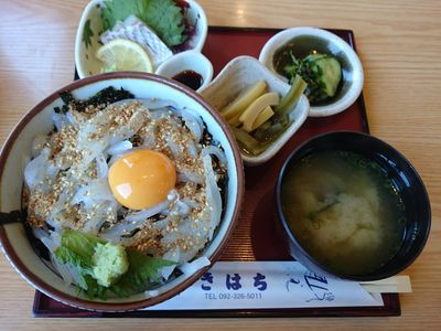 糸島温泉 喜八荘 イカ丼