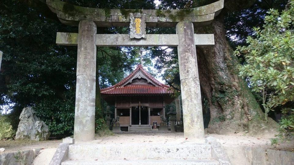 雉琴神社 外観