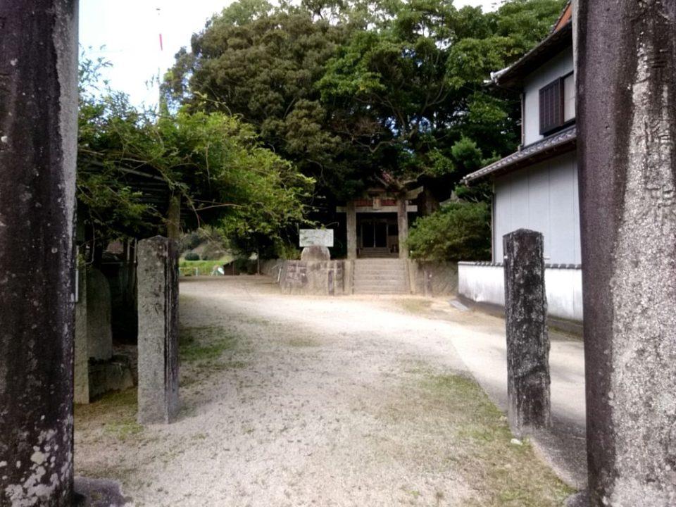 雉琴神社 入口