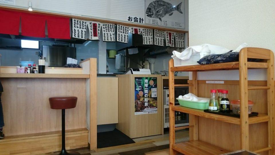 長崎亭 加布里店 店内入口