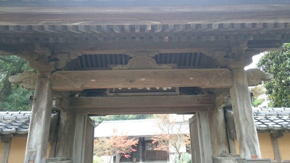 オオカミの口 姪浜 興徳寺 楼門