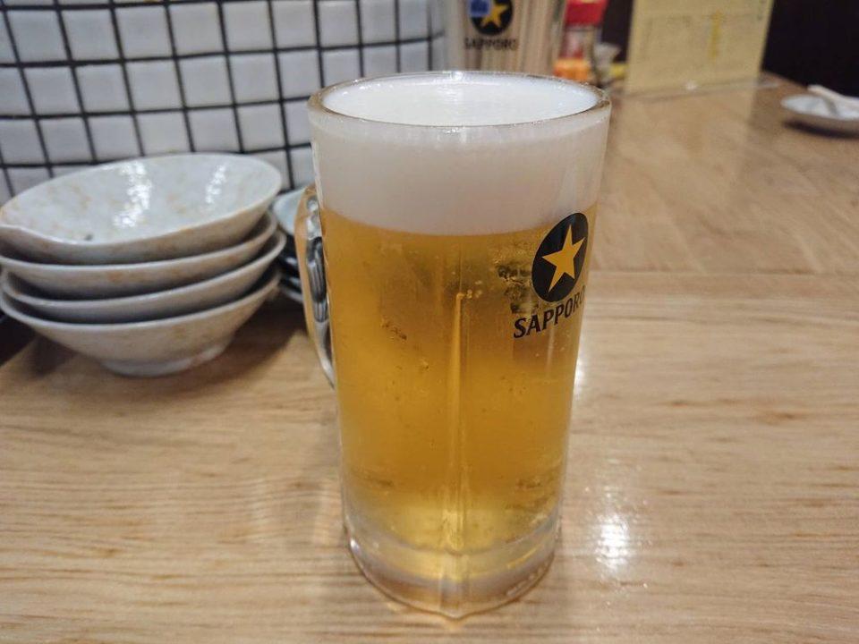 酒処あかり 博多 ビール