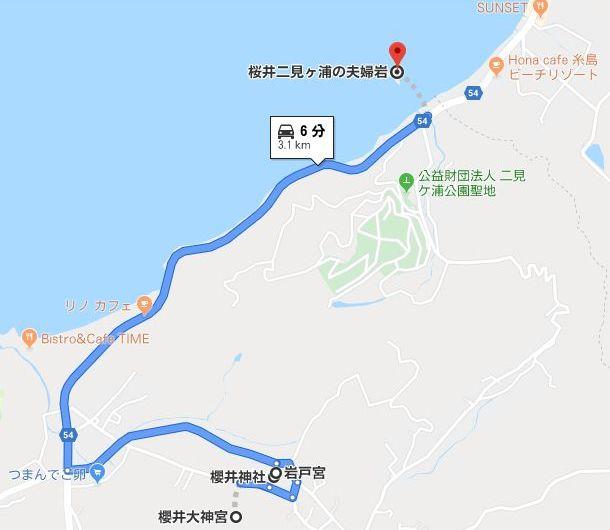 櫻井神社関連の三社参り