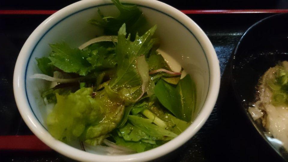 食処はる澤の家糸島店 サラダ