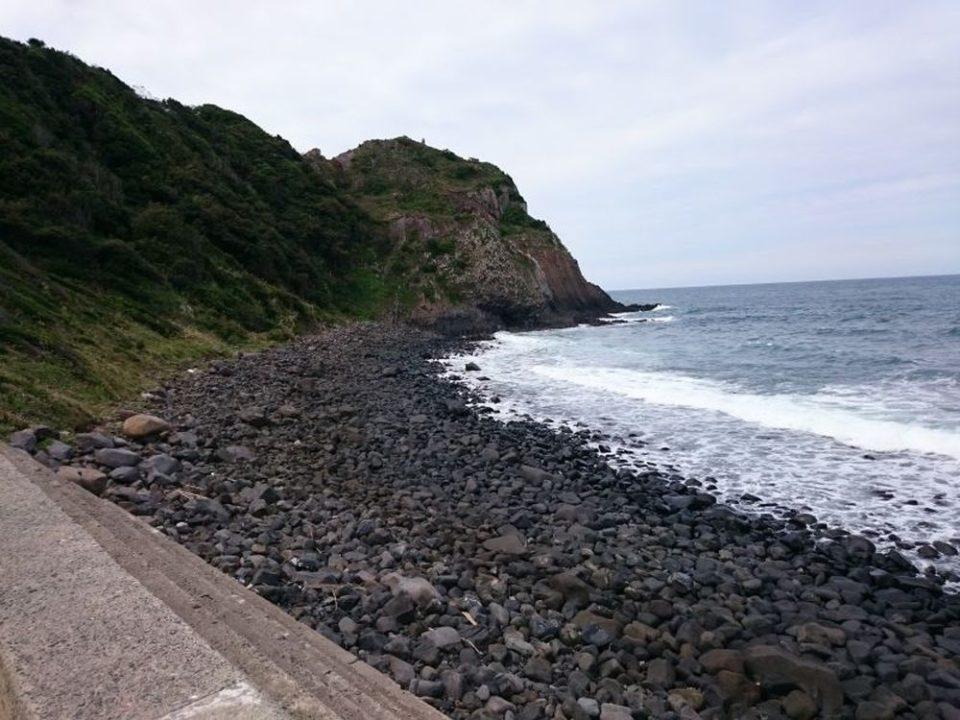 大祖神社 近くの海
