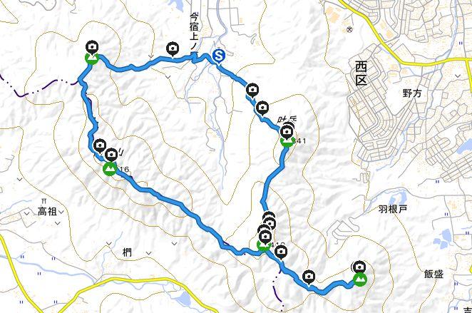 高祖神社 から三社参りプラン 登山