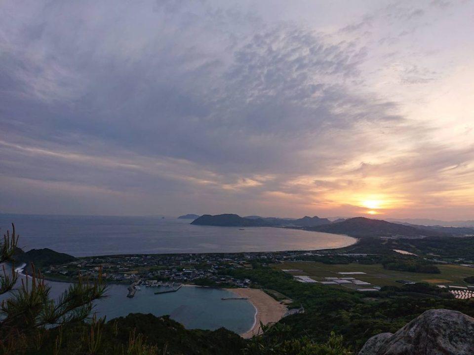 糸島初日の出 立石山山頂