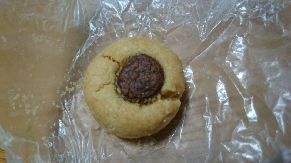 OkashiYa(おかしや)さくほろチョコ(チョコクッキー)中身