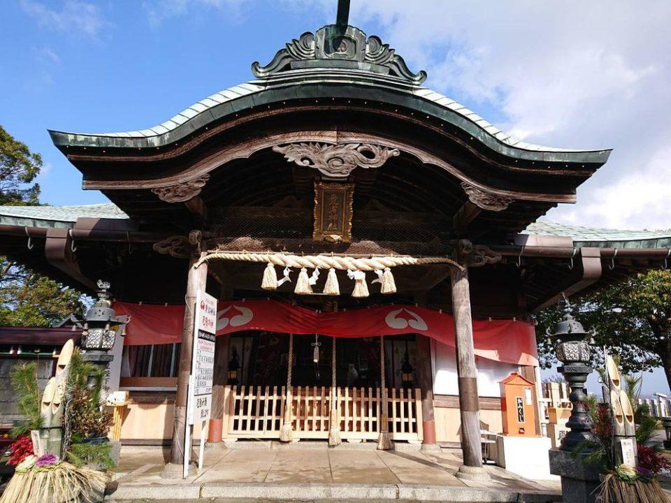 愛宕神社 福岡 拝殿
