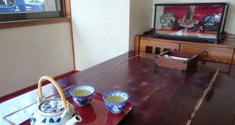 愛宕神社 福岡 茶屋 岩井屋 お茶