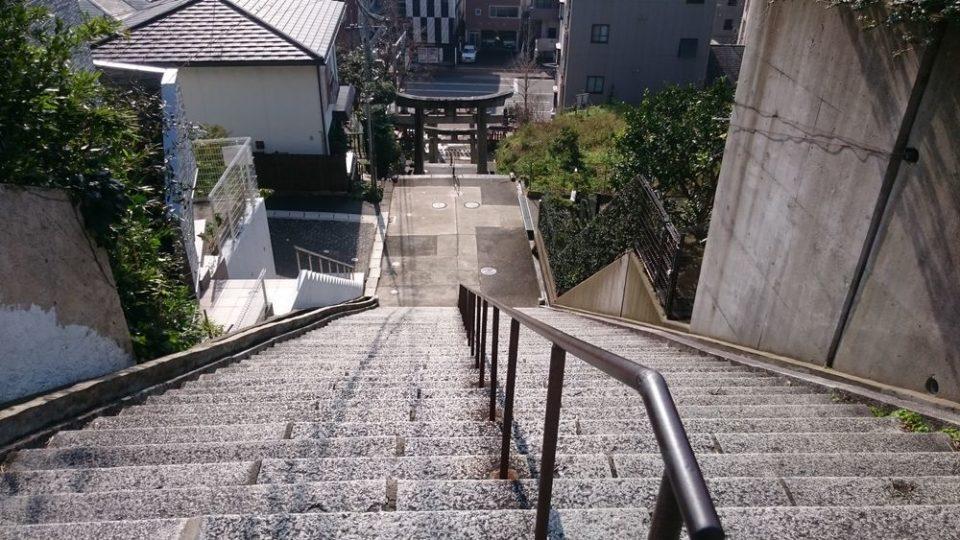 愛宕神社 福岡 階段