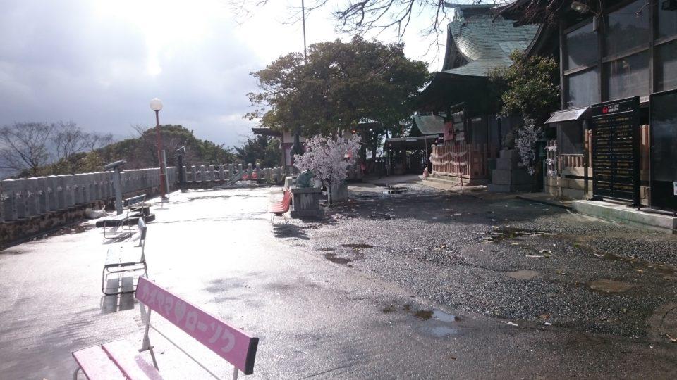愛宕神社 福岡 境内