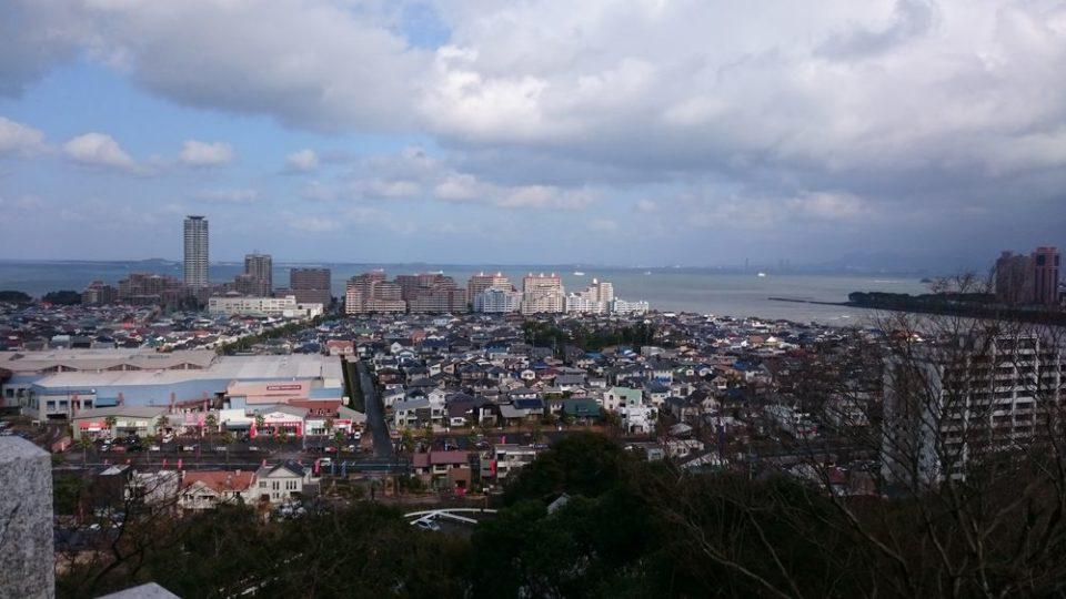 愛宕神社 福岡 景色