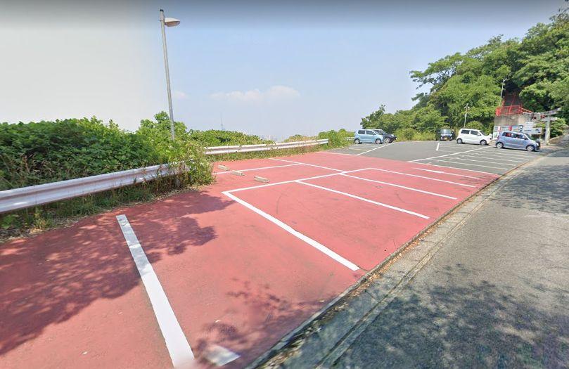 愛宕神社 福岡 駐車場3