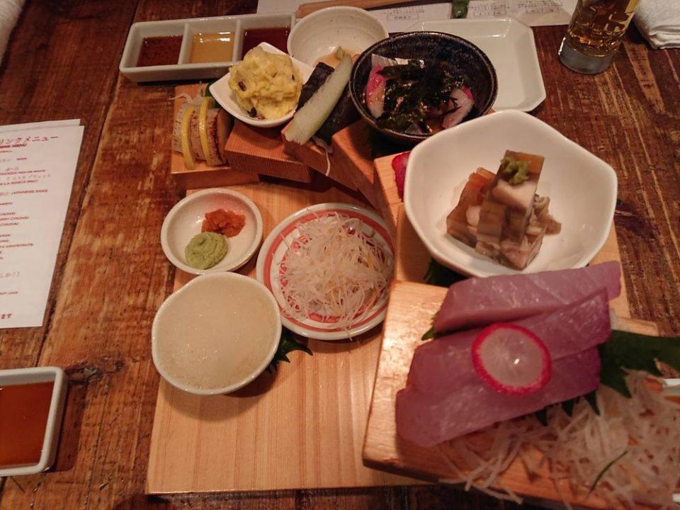 今泉 魚男(フィッシュマン) 寿司タワー上から見た図