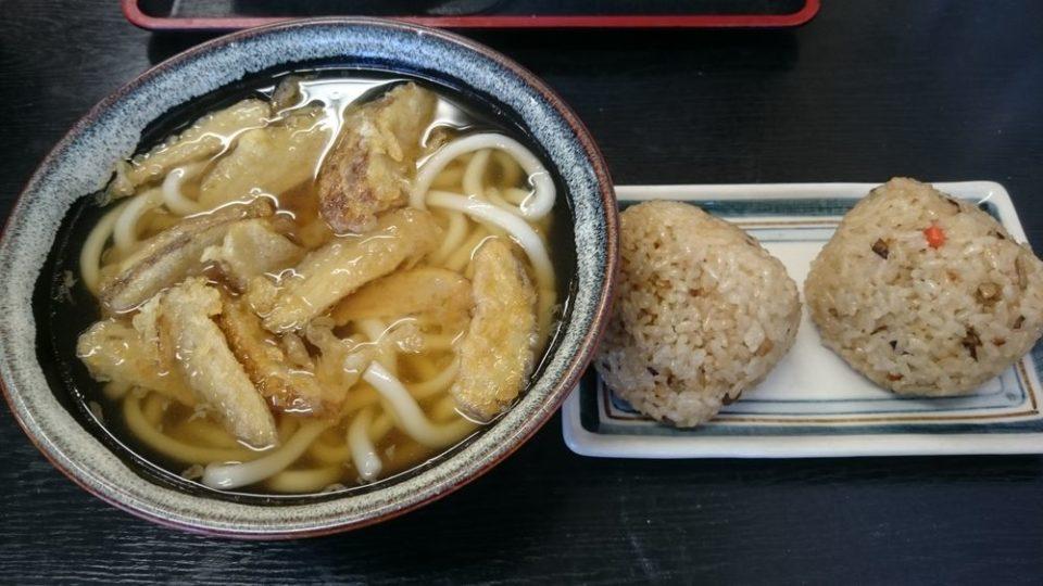 一番うどん 福岡 満腹一番セット