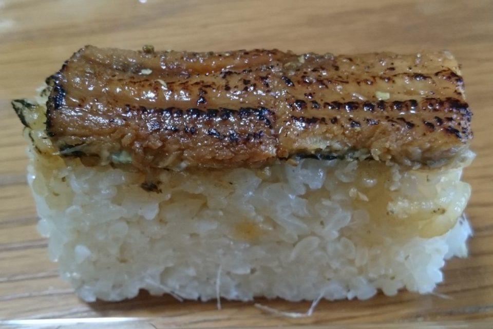 やま中 博多 いっぴん通り あなご押し寿司