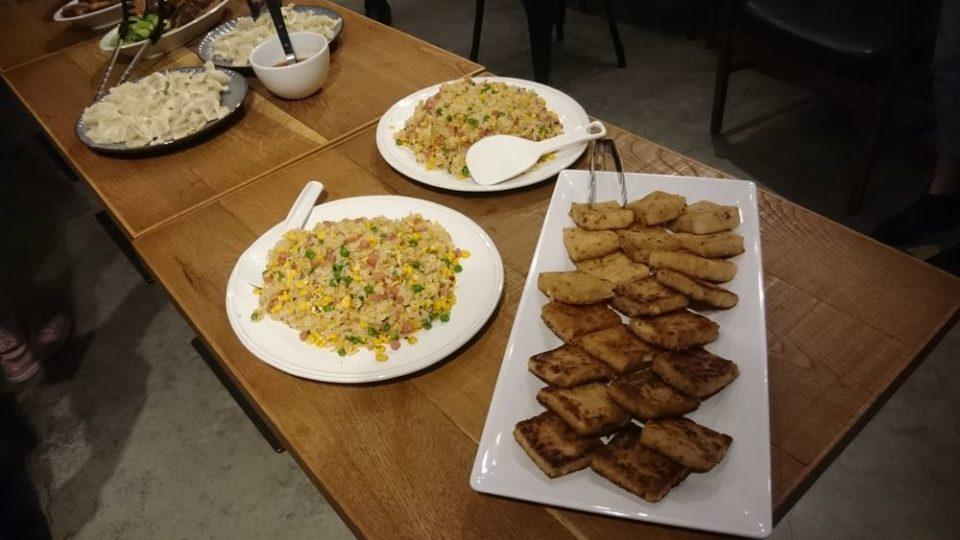 HafH Fukuoka THE LIFE 台湾イベントの台湾料理