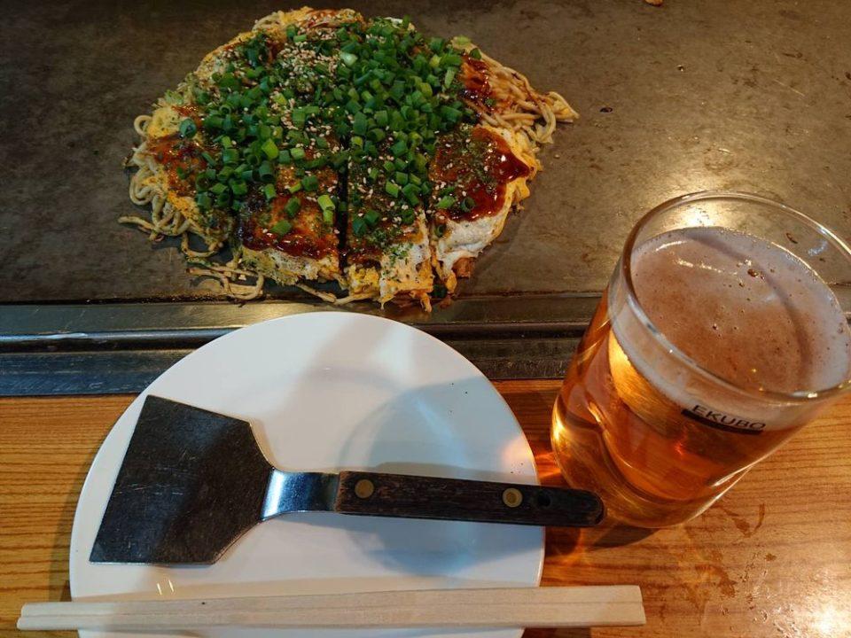 広島お好み焼き きゃべつ お好み焼き 焼きそば入り