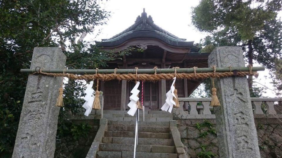 小富士梅林 糸島 天満宮拝殿