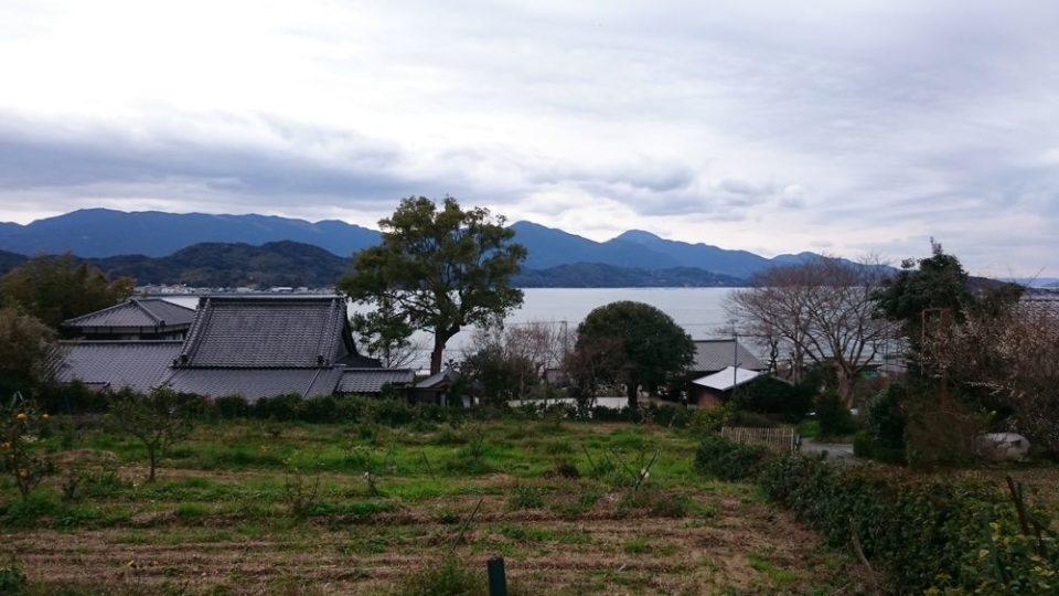 小富士梅林 糸島 海