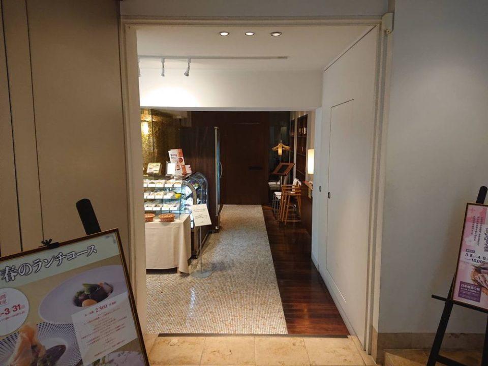 千草ホテル レストラン入口
