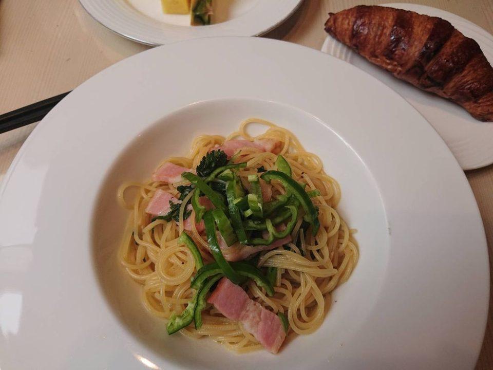 千草ホテル レストラン パスタランチ