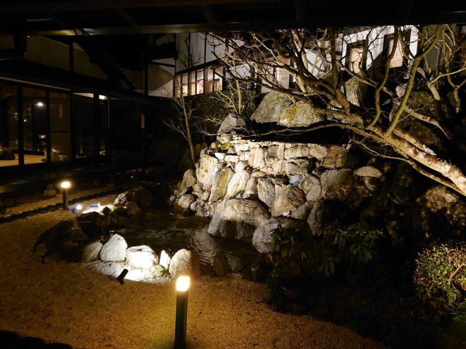 那珂川清滝 中庭