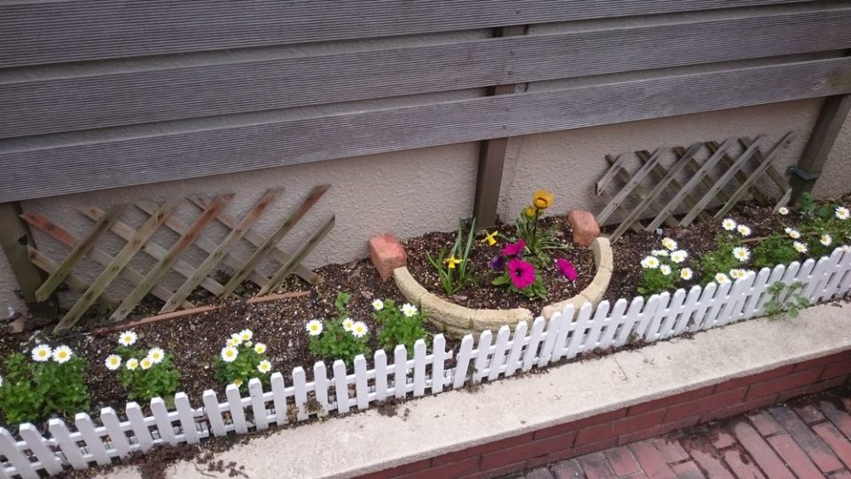 ラムーナ 花壇