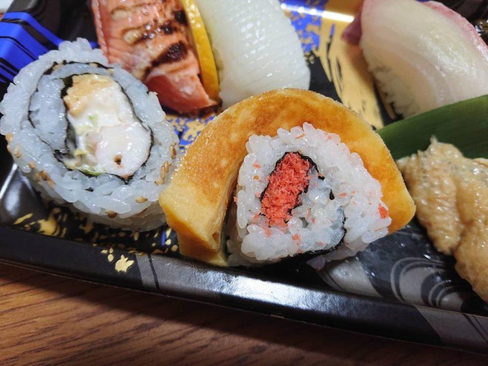 仕出しふるかわ 寿司弁当 アップ