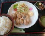 二三家食道(ふみやしょくどう)の塩唐揚げランチ~糸島グルメグランプリ2019のグランプリ店に早速行ってきました